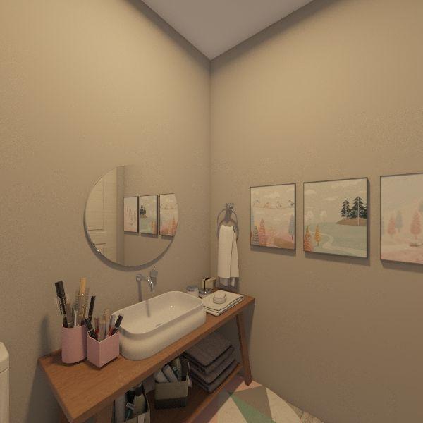 Dorm Building Interior Design Render