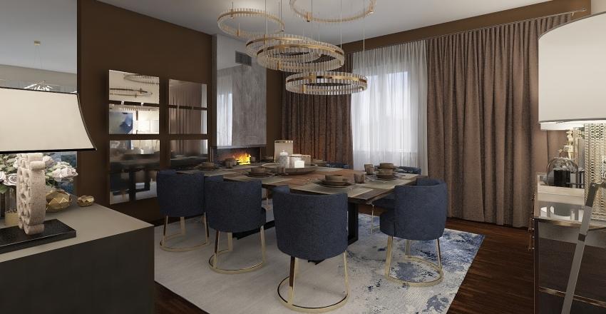 beppe's appartment 1 Interior Design Render