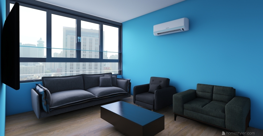 ElRahma Flat Interior Design Render
