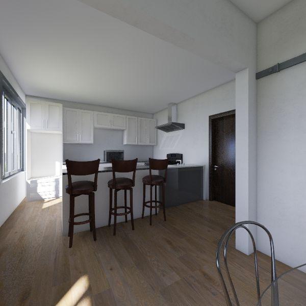 Casa 2020 piso terreo Interior Design Render