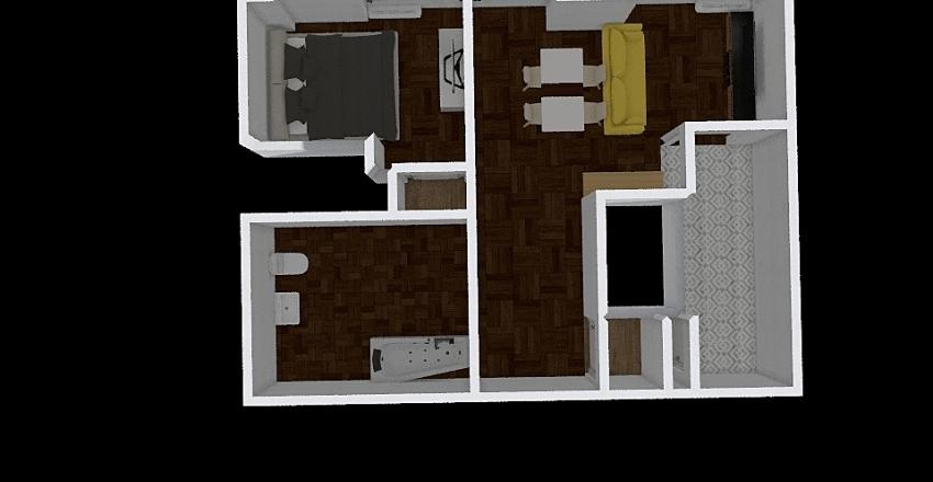 Brooklyner J Line Interior Design Render