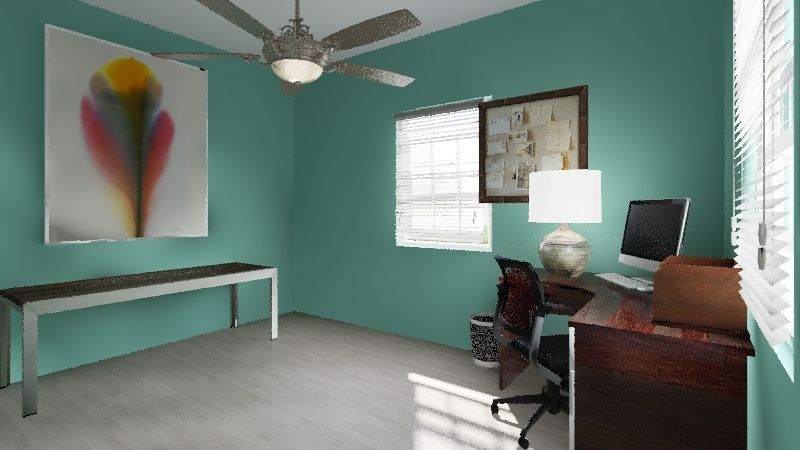 Rental Property Interior Design Render