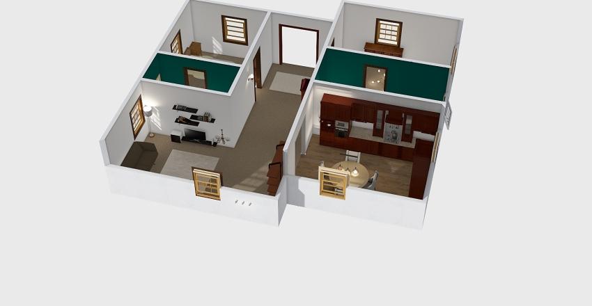 Kathryn Buchanan Interior Design Render