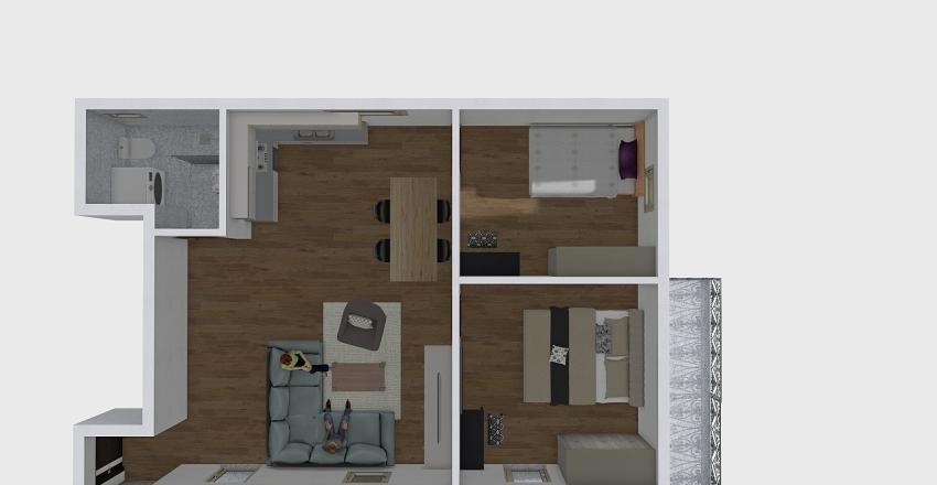 PAZOVA ST 32 Interior Design Render