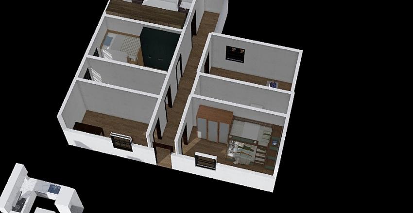 casa decente Interior Design Render