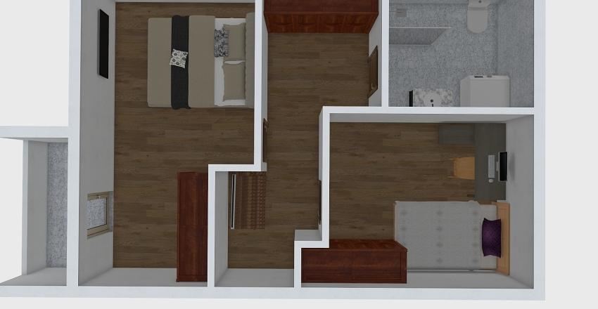 PAZOVA ST 23. Interior Design Render