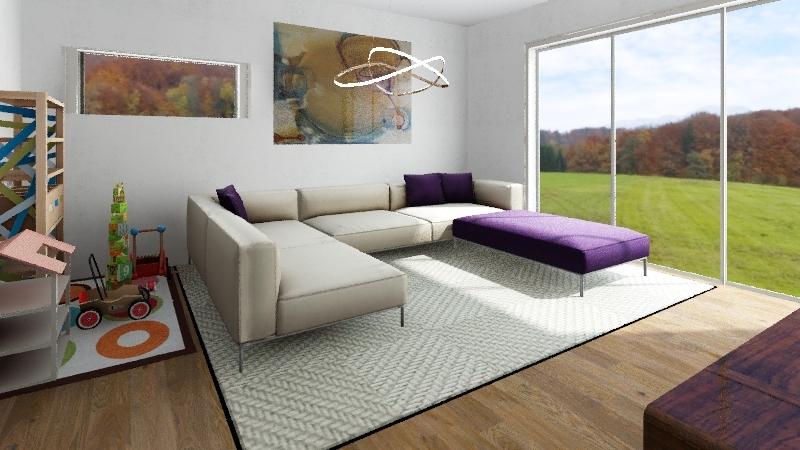 114,4 m2  Interior Design Render