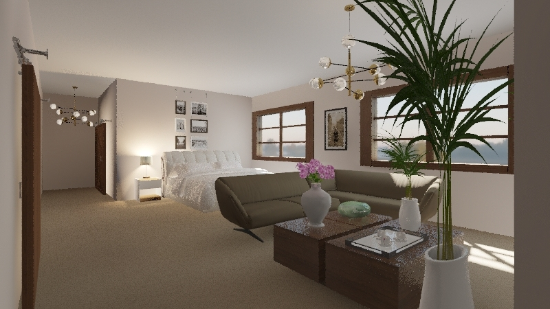 LaShay room Interior Design Render