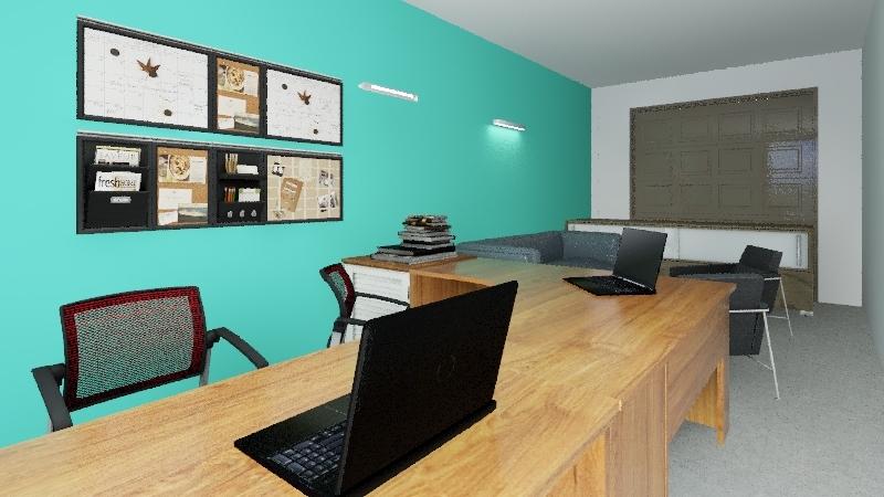 Tendencias en Acero Interior Design Render
