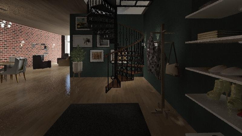 Toronto Luxury Loft Interior Design Render