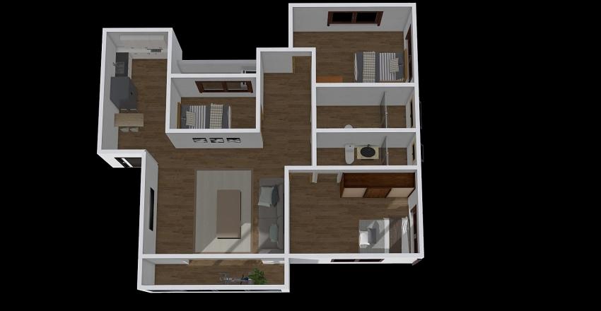 國富二街 Interior Design Render