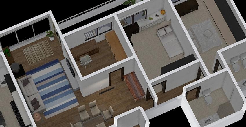 Joa planta PP1 Interior Design Render
