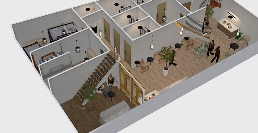 plan2ไฟ Interior Design Render