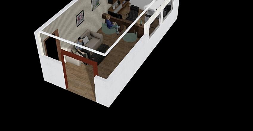 kantor fityan Interior Design Render