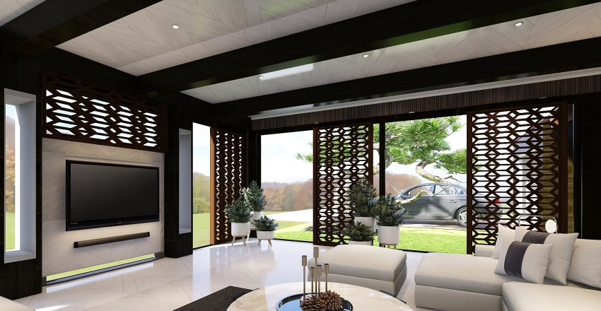 In The Country Interior Design Render