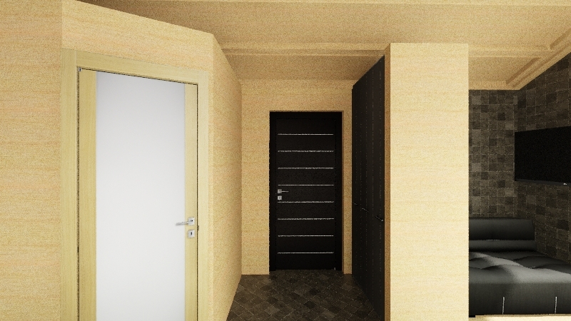Stone house - 1 floor ne Interior Design Render