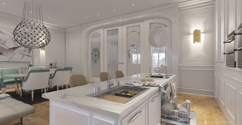 classica Interior Design Render
