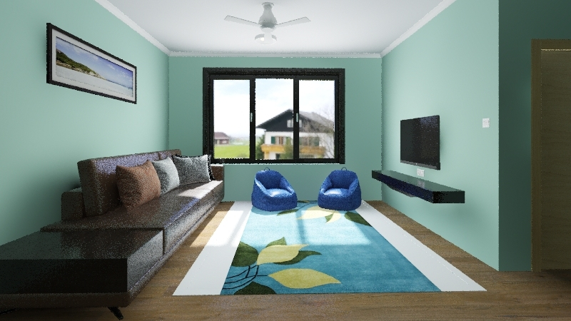Rumah Ku 800kp Interior Design Render