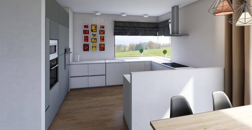 Dom w kostrzewach 4g ver 5 Interior Design Render
