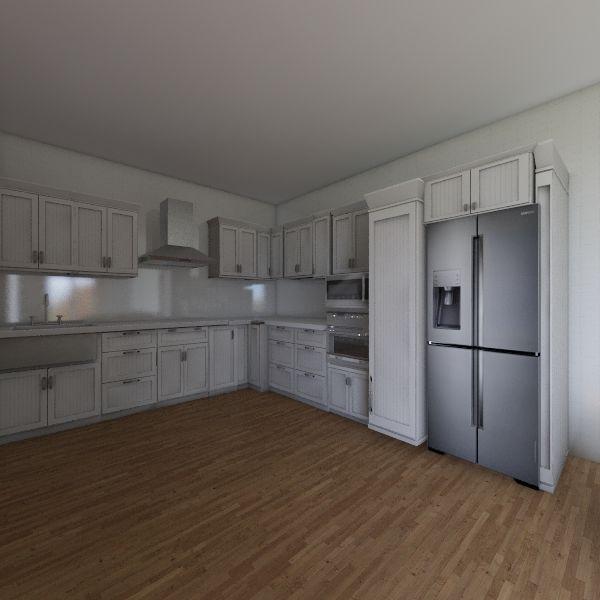 sala/ cocina Interior Design Render