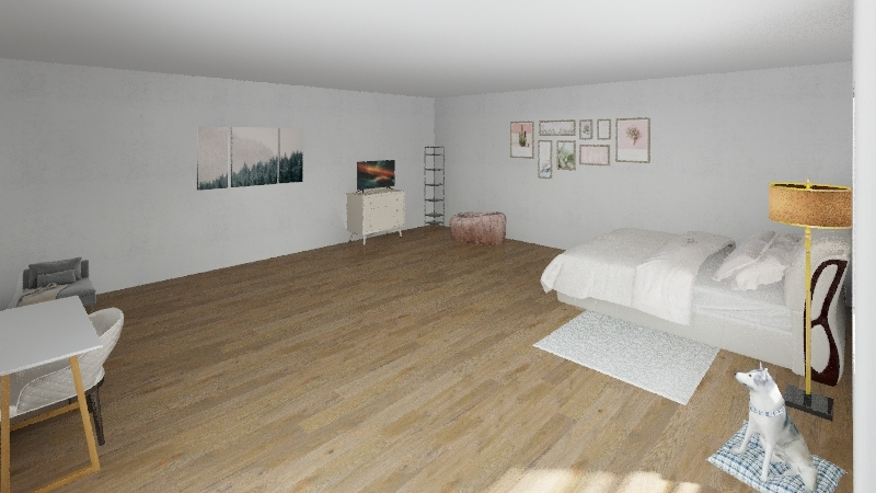 shays room Interior Design Render