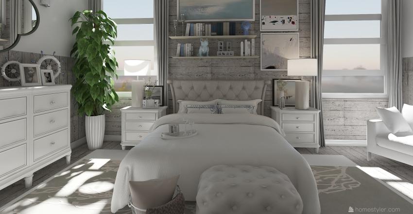 Beach House Interior Design Render