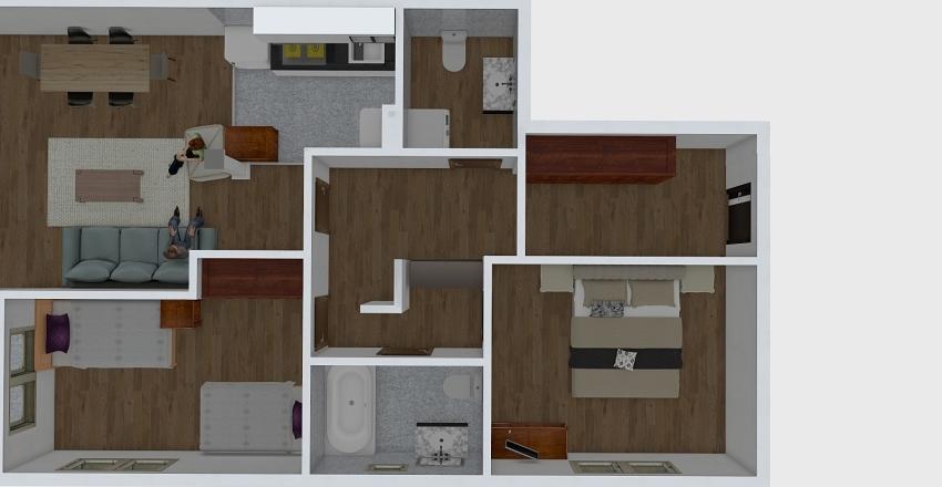 34154 Interior Design Render