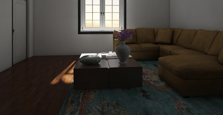 1st house Interior Design Render