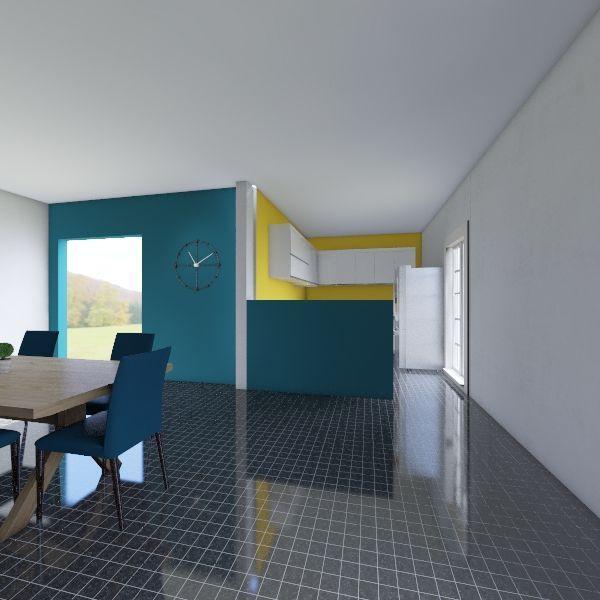 salle Interior Design Render