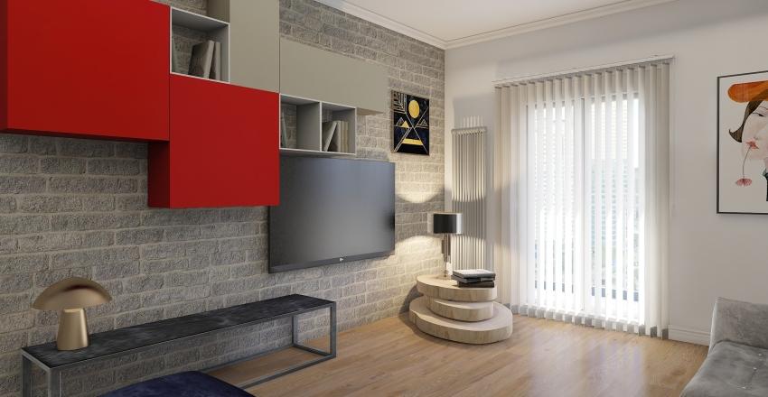 VIA MALTA progetto76 METRI Interior Design Render