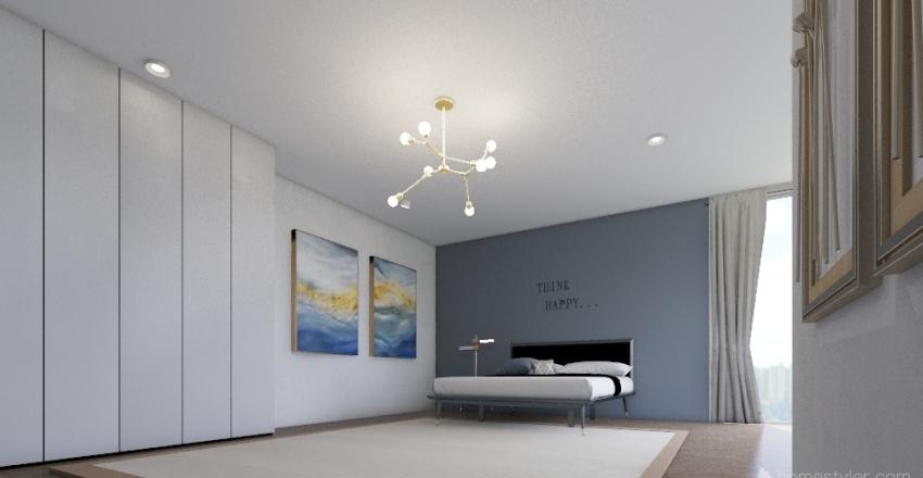 MASTERBED PROJECT Interior Design Render