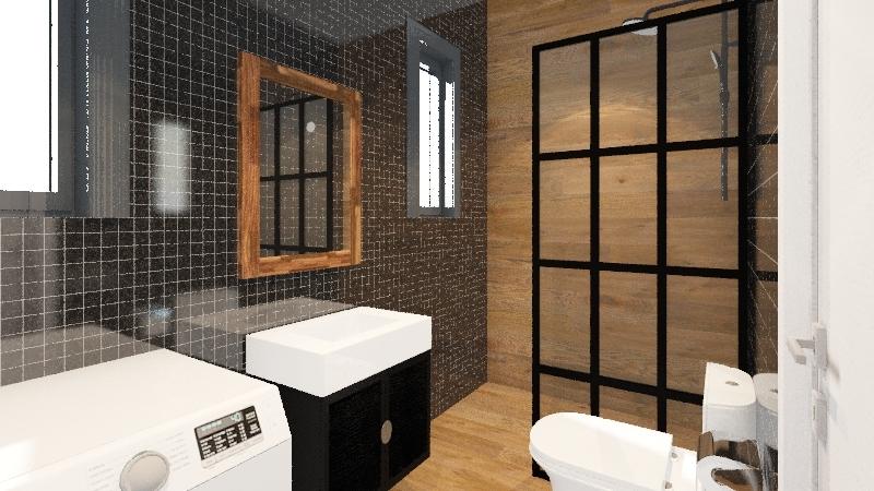Δροσοπούλου 153  solution1 Interior Design Render