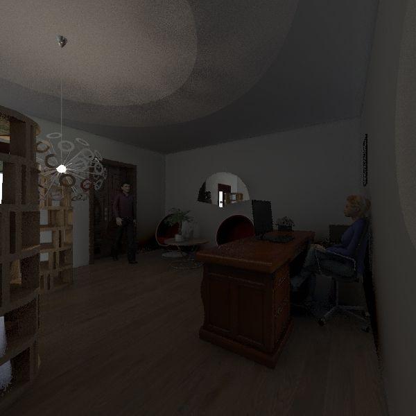 Museo piano terra Interior Design Render