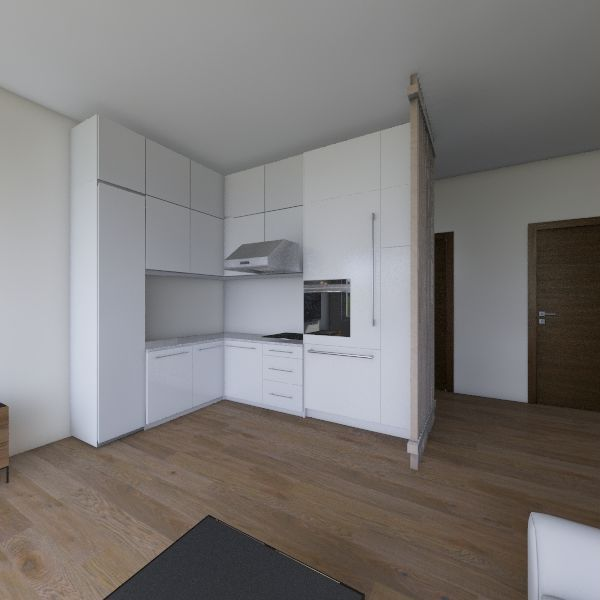 mieszkanie asi Interior Design Render