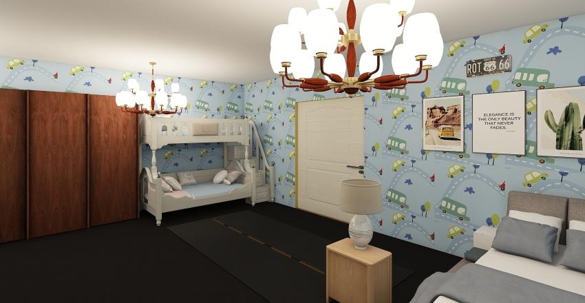 Ronald McDonald house Interior Design Render