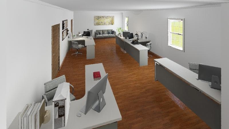 Escritório GDAI v1 Interior Design Render