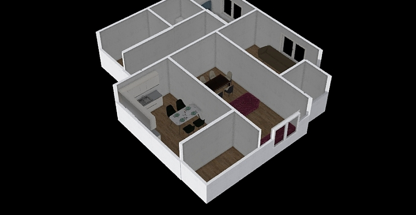 umutkent Interior Design Render