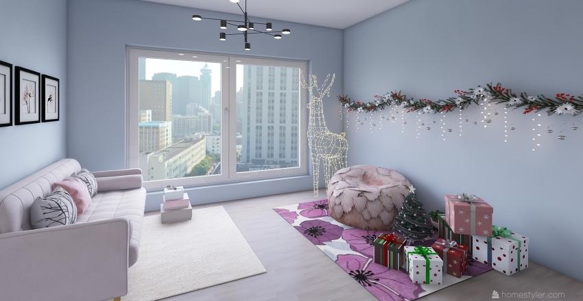 Apartment with Photo Studio Interior Design Render