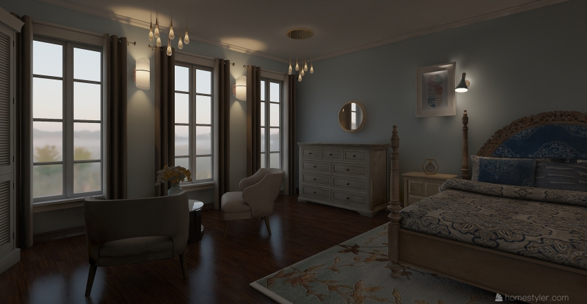 condo Interior Design Render