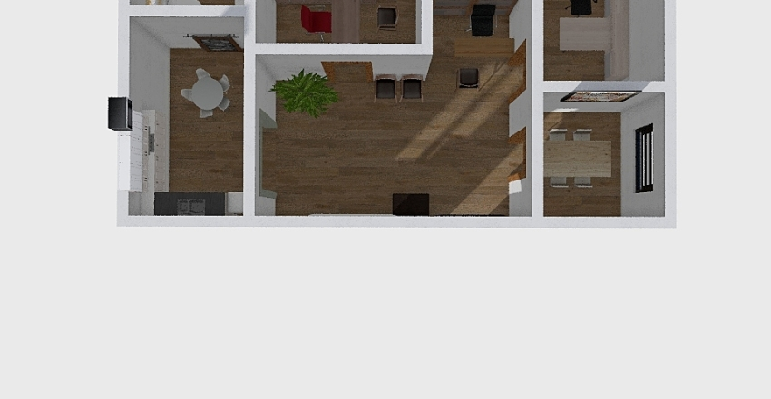 Office Space TopFlr Interior Design Render