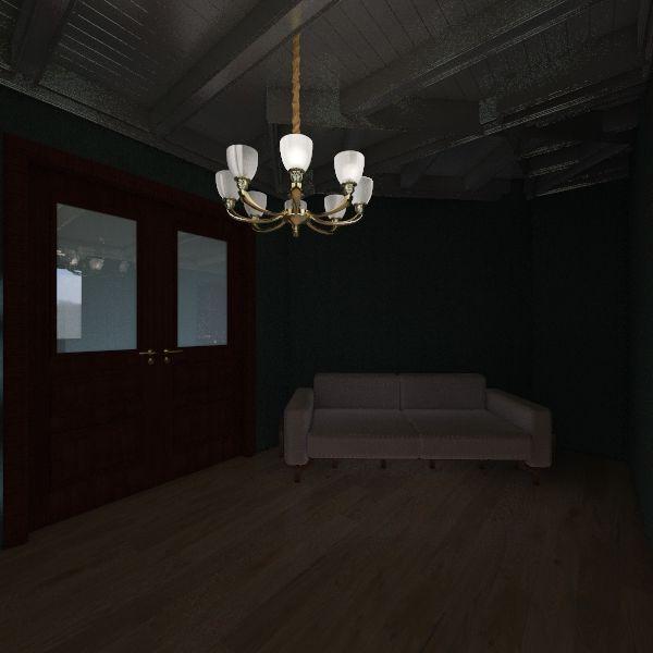 Restaurant Project Interior Design Render