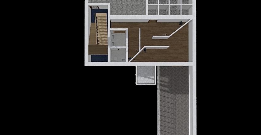 Museo primo piano Interior Design Render