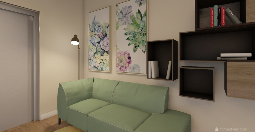 First Floor _ Cernica House Interior Design Render