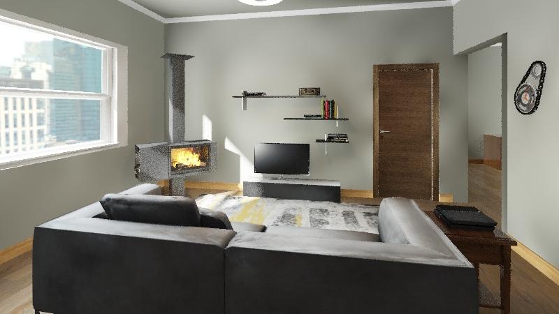 Little Cozy Home Interior Design Render