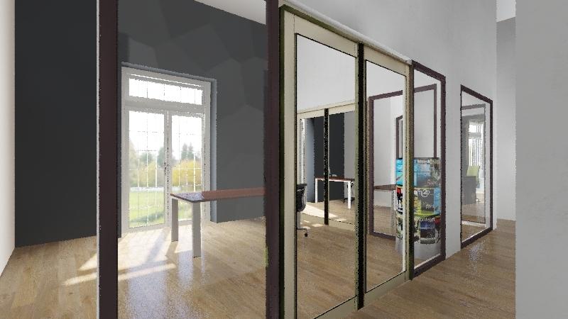 Workspace Centro 1er Interior Design Render