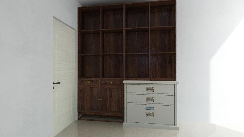 armadio RAFFAELE COLLAZZO Interior Design Render
