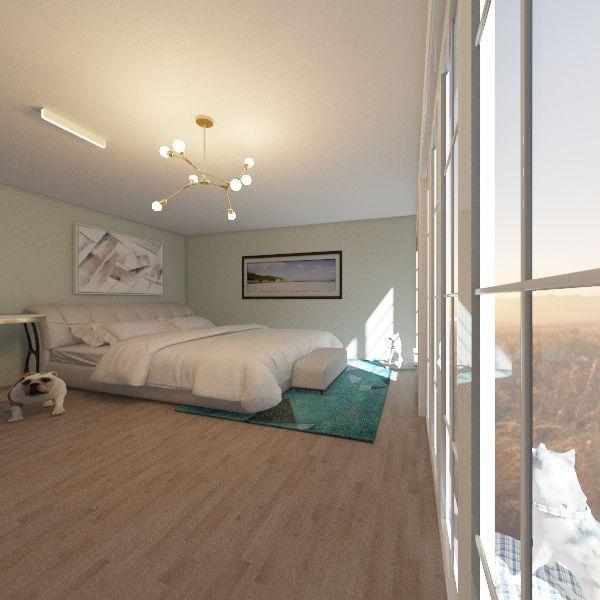 Bedroom 2020 Interior Design Render