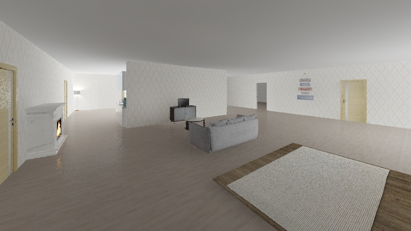 Aileys house  Interior Design Render