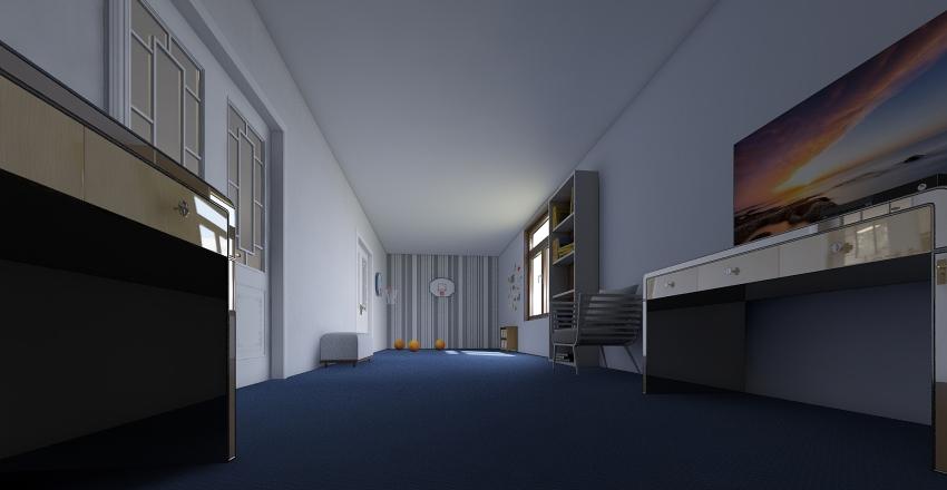 allyson ronald mcdonald  Interior Design Render