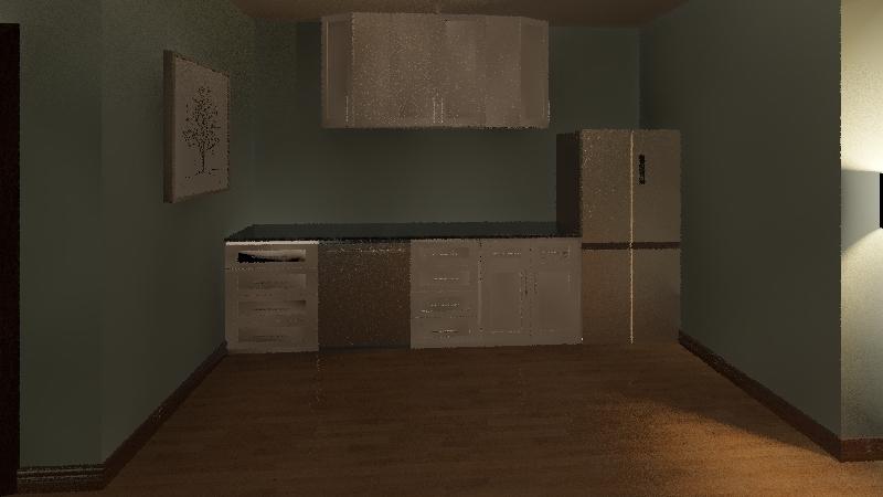 apartment A3 Interior Design Render